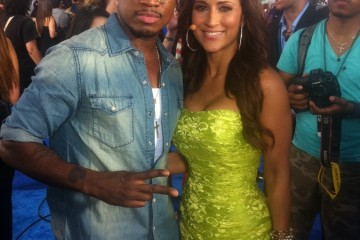 Jackie Guerrido and Neyo
