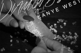Diamonds (Remix) ft. Kanye West Cover Art