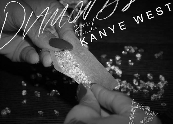 Diamonds (Remix) ft. Kanye West Cover Art