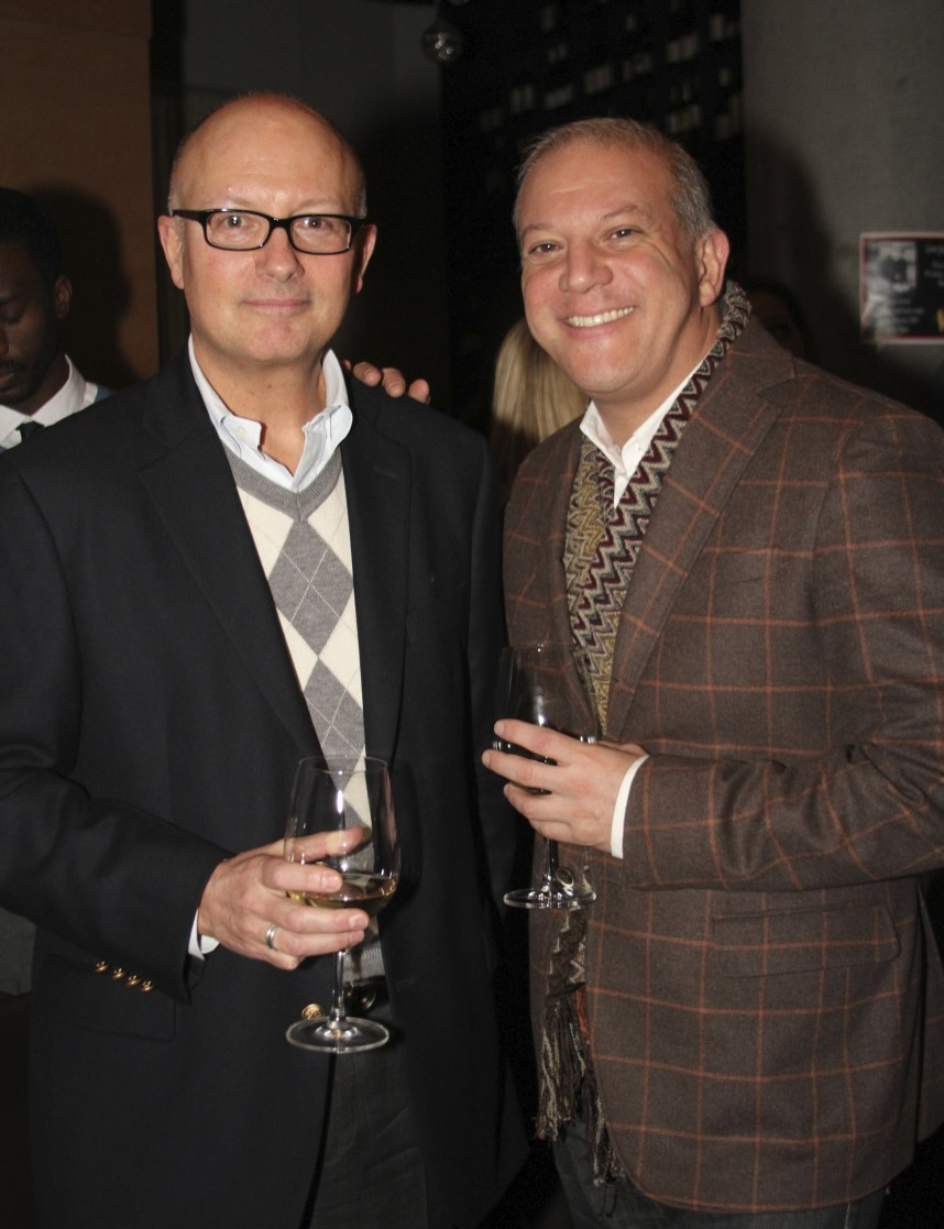 CFO Gerard Manfredonia with VP of Sales for DKNY