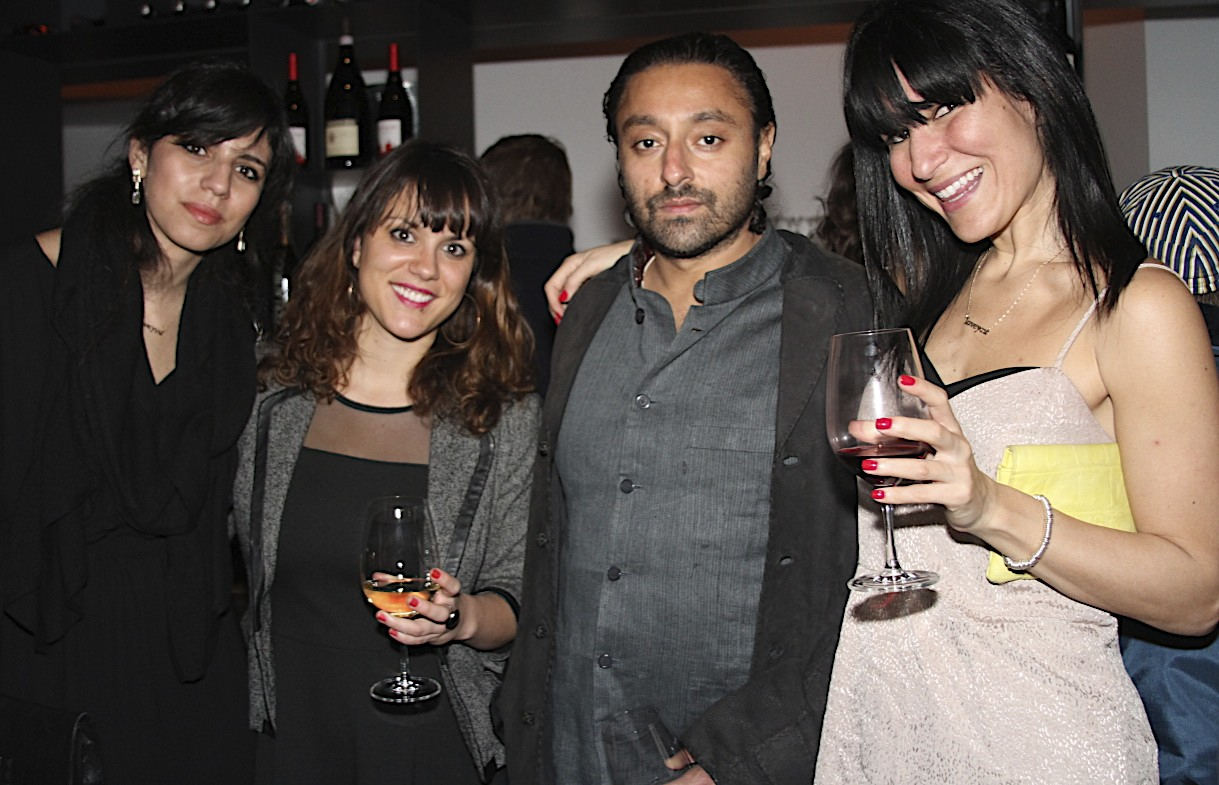 Kika Hazan, Business & Product Development Manager Claire Mauger, VIP guest Vikram Chatwal & Jordana Hazan