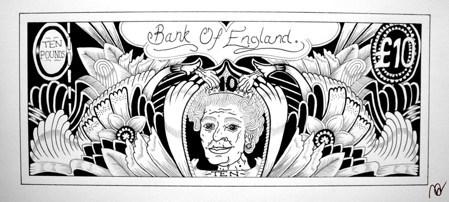 Bank Note by Adam Hassan