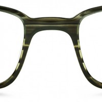 Langhorne | Warby Parker (Color: Striped Evergreen)