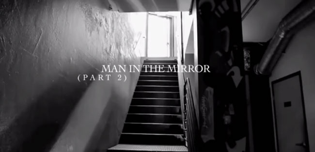 Man In The Mirror | Chris Scholar - Why Blue Matters